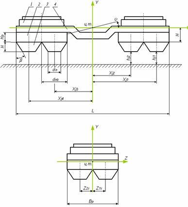 1 – вентиляторная установка